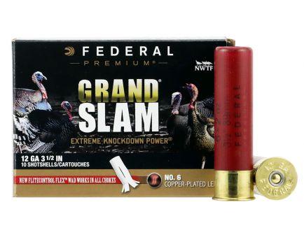 "Federal Premium Grand Slam 3.5"" 12 Gauge Ammo 6, 10/box - PFCX139F6"