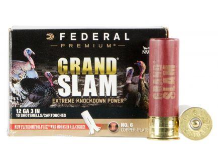 "Federal Premium Grand Slam 3"" 12 Gauge Ammo 6, 10/box - PFCX157F6"