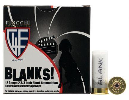 Fiocchi Shotgun Blank 12 Gauge Ammo, 25/box - 12BLANK