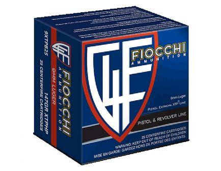 Fiocchi Extrema 147 gr XTP Hollow Point 9mm Ammo, 25/box - 9XTPB25