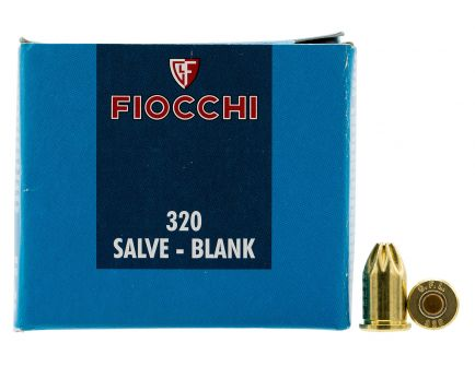 Fiocchi .320 Short Blank Ammo, 50/box - 320BLANK