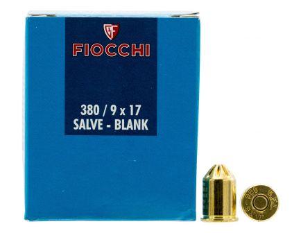 Fiocchi .380 Rimmed Short Blank Ammo, 50/box - 380BLANK