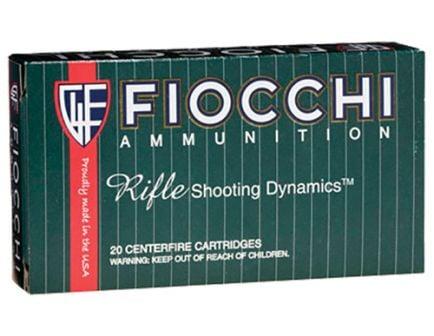 Fiocchi Rifle Shooting Dynamics 165 gr Boat Tail Soft Point Interlock .308 Win Ammo, 20/box - 308D