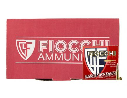 Fiocchi Range Dynamics 150 gr Full Metal Jacket Boat Tail .308 Win Ammo, 400 Rounds - 308ARD
