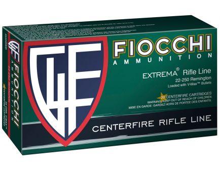 Fiocchi Extrema 55 gr V-Max Polymer Tip BT .25-250 Rem Ammo, 20/box - 22250HVD
