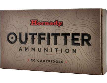 Hornady Outfitter 150 gr GMX - Copper Alloy Expanding 7mm Rem Mag Ammo, 20/box - 80611