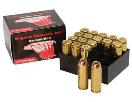 Magnum Research 300 gr Jacketed Hollow Point .50 AE Ammo, 20/box - DEP50HP/XTP3