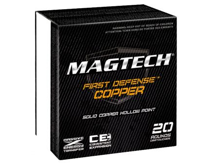 Magtech 130 gr Solid Copper Hollow Point .40 S&W Ammo, 20/box - FD40A