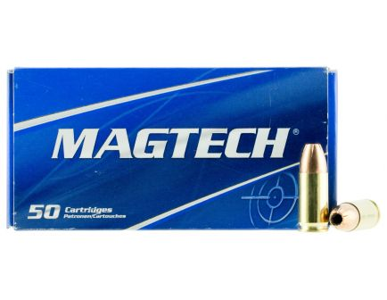 Magtech 115 gr Jacket Hollow Point 9mm +P+ Ammo, 50/box - 9H
