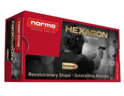Norma Ammunition 180 gr Hexagon .357 Mag Ammo, 50/box - 299340050