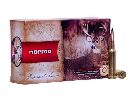 Norma Ammunition American PH 130 gr Scirocco II 6.5 Crd Ammo, 20/box - 20166302