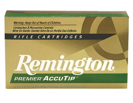 Remington Premier 50 gr AccuTip-V Boat Tail .221 Rem Ammo, 20/box - PRA221FB