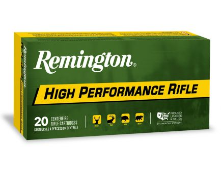 Remington High Performance 270 gr Core-Lokt Soft Point .375 RUM Ammo, 20/box - PR375UM2