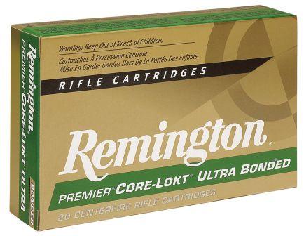 Remington Core-Lokt 150 gr Pointed Soft Point 7mm RSAUM Ammo, 20/box - PR7SM2