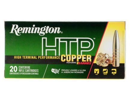 Remington HTP Copper 150 gr Barnes TSX Boat Tail 7mm RUM Ammo, 20/box - HTP7UM