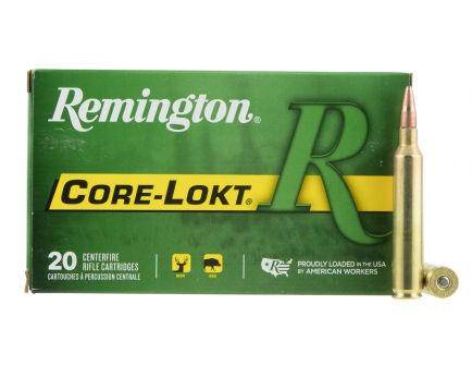 Remington Core-Lokt 150 gr Pointed Soft Point 7mm RUM Ammo, 20/box - R7RUM01