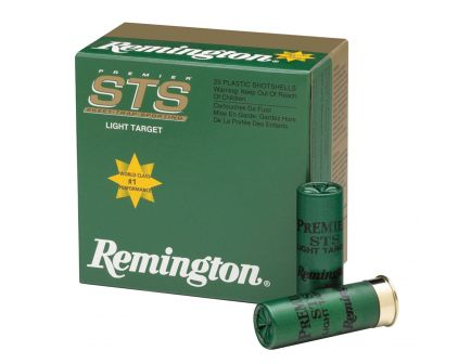 "Remington Premier Handicap, Nitro 27 2.75"" 12 Gauge Ammo 8, 25/box - STS12NH8"