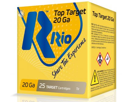"""RIO Top Target 2.75"""" 12 Gauge Ammo 8, 250 Rounds - TT208"""