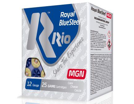 "RIO Royal/BlueSteel 3"" 12 Gauge Ammo 4, 25 Rounds - RBSM364"