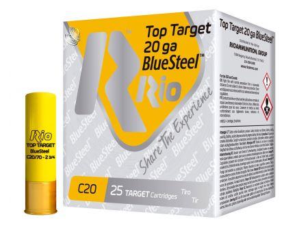 """RIO Top Target/BlueSteel 2.75"""" 20 Gauge Ammo 7, 250 Rounds - TTBS207"""