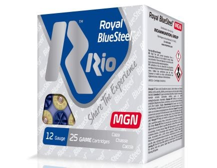 "RIO Royal/BlueSteel 3"" 20 Gauge Ammo 4, 25 Rounds - RBSM204"