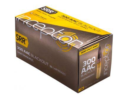 Inceptor Sport Utility 88 gr SRR .300 Blackout Ammo, 50/box - 300SRRBLK50