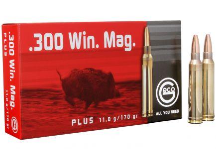 Geco 170 gr Plus .300 Win Ammo, 20/box - 280940020