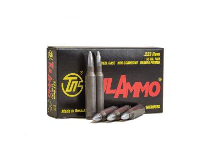 Tulammo 55 gr Full Metal Jacket .223 Rem Ammo, 20/box - TA223556