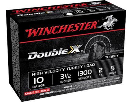 "Winchester Ammunition Double X 3.5"" 10 Gauge Ammo 5, 10/box - STH105"
