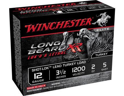 "Winchester Ammunition Long Beard XR Shot-Lok 2.75"" 12 Gauge Ammo 5, 10/box - STLB125"
