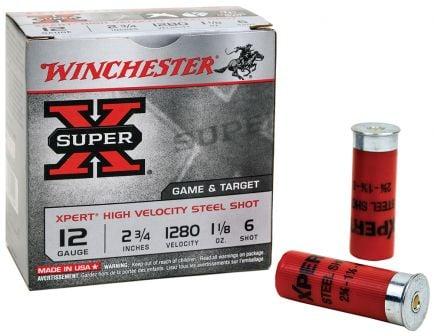 "Winchester Ammunition Super-X 2.75"" 28 Gauge Ammo 6, 25/box - WE28GT6"