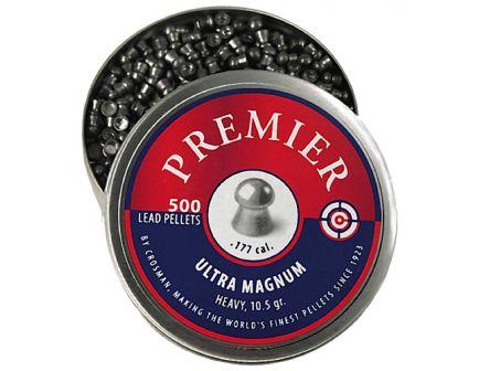 Crosman Premier .177 10.5 gr Domed Heavy Pellet, 500/pack - LUM177