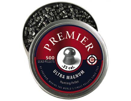 Crosman Premier .22 14.3 gr Domed Pellet, 500/pack - LDP22