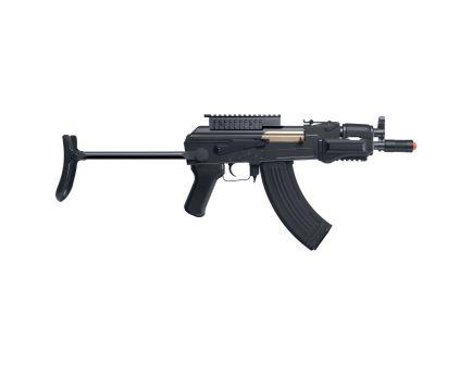 Crosman 6mm Airsoft Full/Semi-Automatic Air Rifle, Black - GF76