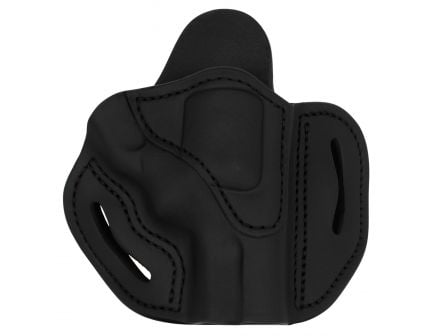 """1791 Gunleather RVH2S Right Hand 3"""" Smith & Wesson K/L Outside-The-Waistband Holster, Black - RVH2SSBLR"""