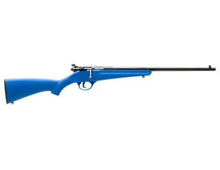 Savage Arms Rascal (Blue) 22 LR 16.11 Round Bolt Action Rimfire Rifle, Sporter - 13785