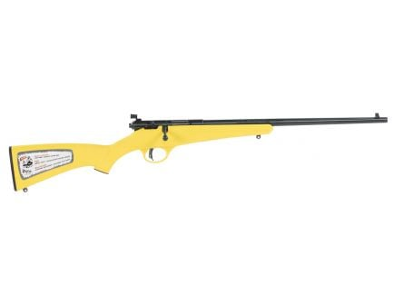 Savage Arms Rascal (Yellow) 22 LR 16.11 Round Bolt Action Rimfire Rifle, Sporter - 13805