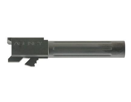 "Agency Arms Mid Line Glock 19 9mm 4.01"" Match Grade Drop-in Fluted Barrel, Black DLC - MLG19FDLC"