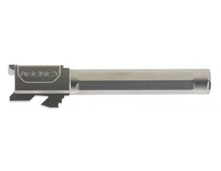 "Agency Arms Premier Line Glock 17 9mm 4.48"" Match Grade Drop-in Fluted Barrel, Stainless Steel - PLG17FSS"