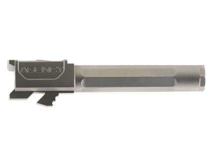 "Agency Arms Premier Line Glock 19 9mm 4.01"" Match Grade Drop-in Fluted Barrel, Stainless Steel - PLG19FSS"