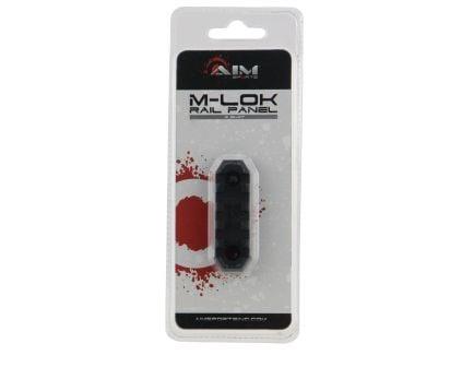 "Aim Sports M-LOK 2.5"" 6061 T6 Aluminum Picatinny Section Rail, Anodized Black - MLRS1"