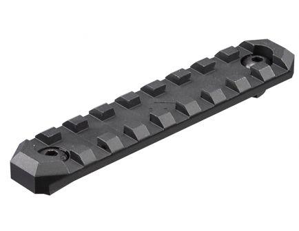 "Aim Sports M-LOK 4"" 6061 T6 Aluminum Picatinny Section Rail, Anodized Black - MLRS2"