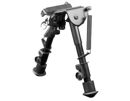 """Aim Sports H-Style Spring Tension Small Bipod, 6.5"""" to 9"""" H - BPHS01"""