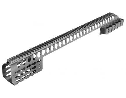 "Aim Sports M-LOK 24.2"" 6061 T6 Aluminum Modular Rail System, Black - MTMSG500"