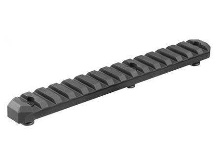 "Aim Sports KeyMod 6"" 6061 T6 Aluminum Picatinny Section Rail, Anodized Black - KMRS3"