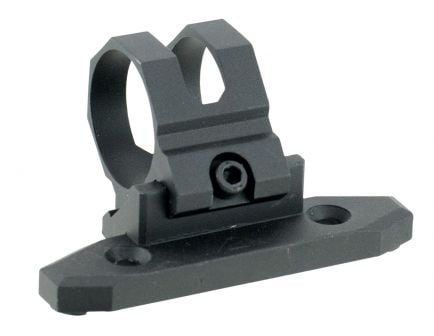 "Aim Sports Modular KeyMod 1"" 6061 T6 Aluminum 45 Degree Offset Mount, Anodized Black - AKMC03"