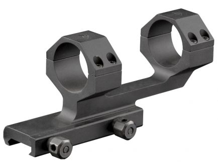 Aim Sports 30mm High 6061 Aluminum 1-Piece Cantilever Scope Mount, Anodized Black - MTCLF317
