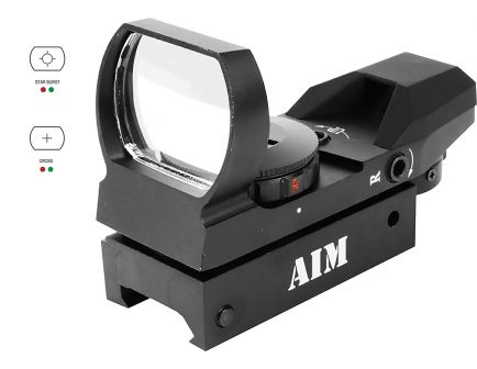 Aim Sports Classic Edition 1x34mm Reflex Sight - RT403