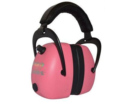Pro Ears Gold II 30 dB Over the Ear Electronic Earmuff, Pink - PEG2RMP