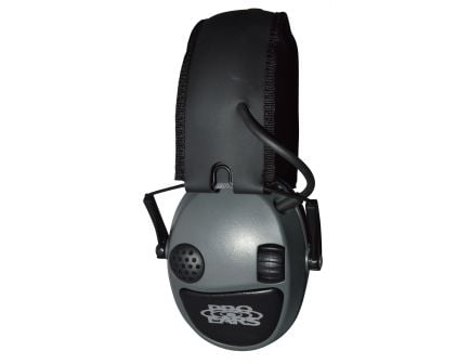 Pro Ears Silver 22 dB Over the Ear Electronic Folding Earmuff, Gray - PESILVER
